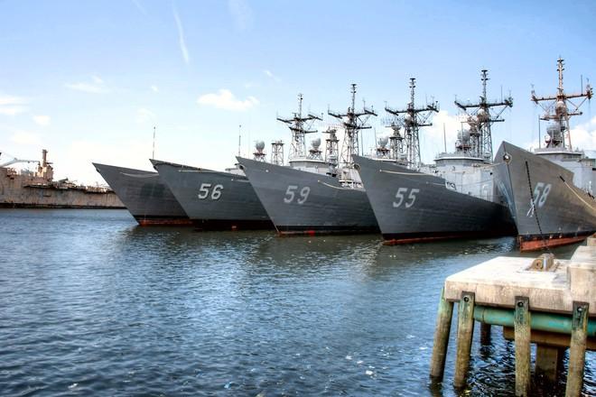 Việt Nam sẽ tiếp nhận khinh hạm lớp Oliver Hazard Perry cỡ lớn của Mỹ? - Ảnh 1.
