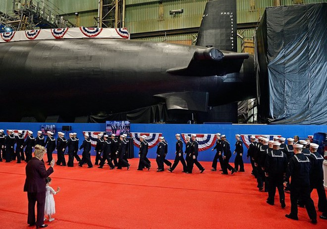 Hải quân Mỹ hạ thủy 2 tàu ngầm nguyên tử tấn công lớp Virginia - Ảnh 2.