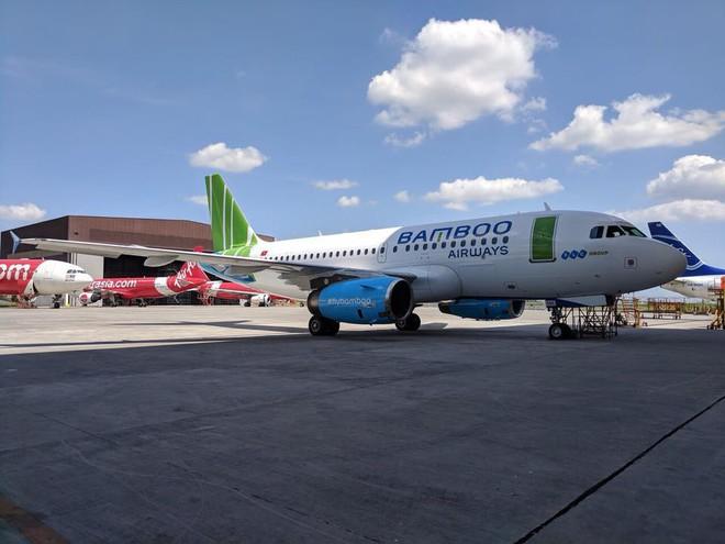 Lộ diện hình ảnh máy bay của Bamboo Airways - Ảnh 1.