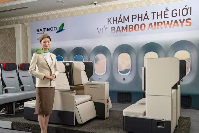 Lộ diện hình ảnh máy bay của Bamboo Airways - Ảnh 9.