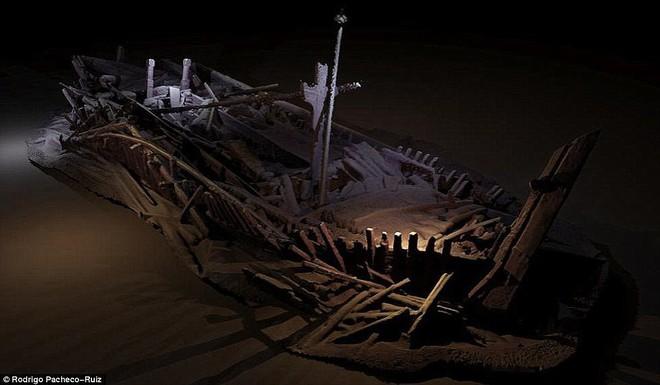 Thám hiểm vùng chết sâu 2.000m ở Biển Đen, phát hiện xác tàu cổ nhất trong lịch sử  - Ảnh 5.