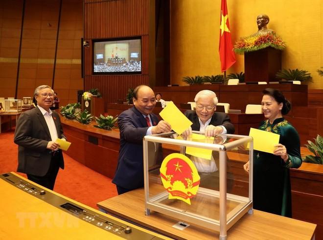 Phát biểu nhậm chức của Tổng Bí thư, Chủ tịch nước Nguyễn Phú Trọng - Ảnh 1.