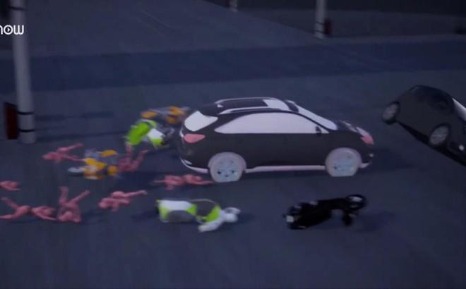 Video 3D mô phỏng tai nạn thảm khốc ở ngã tư Hàng Xanh, TP.HCM