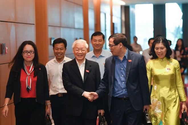 Tổng bí thư Nguyễn Phú Trọng đắc cử Chủ tịch nước với tỷ lệ phiếu 99,79% - Ảnh 6.