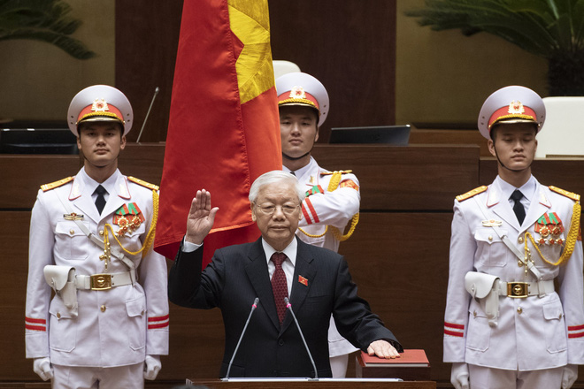 Tổng bí thư Nguyễn Phú Trọng đắc cử Chủ tịch nước với tỷ lệ phiếu 99,79% - Ảnh 2.