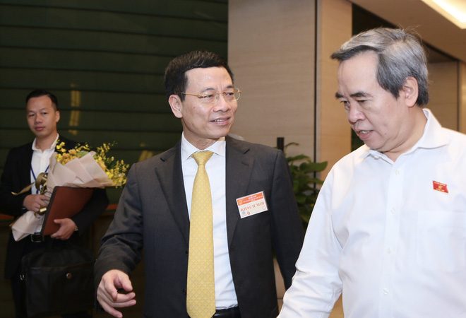 Ông Nguyễn Mạnh Hùng làm Bộ trưởng Thông tin và Truyền Thông - Ảnh 1.