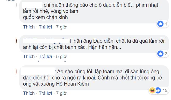 Khán giả tức giận vì người yêu Quỳnh búp bê chết thật - Ảnh 3.