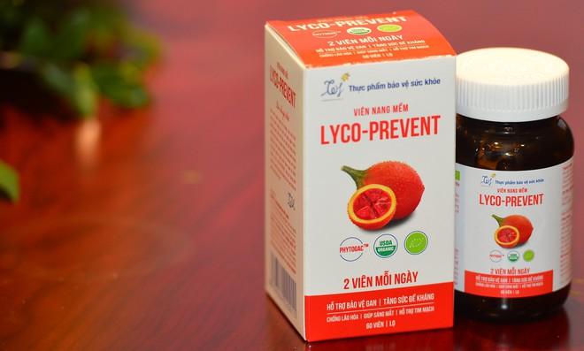 Viên nang gấc Lyco-Prevent: Sự khác biệt của sản phẩm hữu cơ chăm sóc gan và tăng sức đề kháng - Ảnh 1.