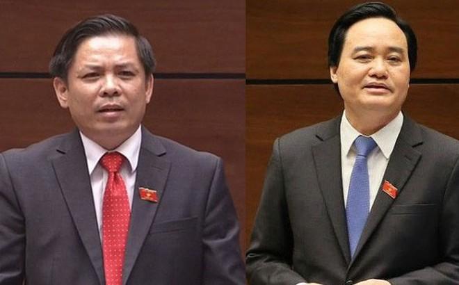 Đại biểu lý giải việc Bộ trưởng Nhạ, Bộ trưởng Thể có nhiều phiếu tín nhiệm thấp