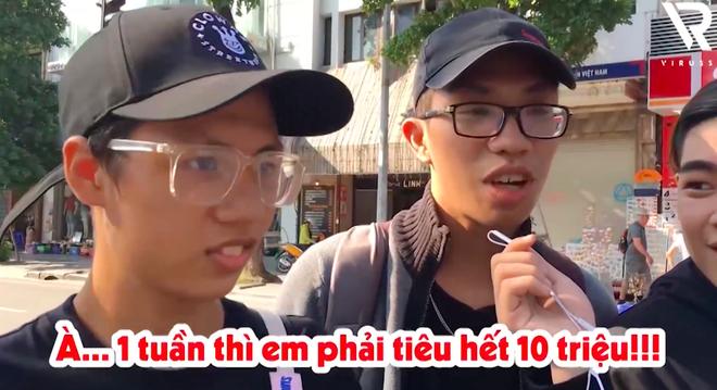 Phỏng vấn dạo: 19 tuổi tiết lộ tiêu 10 triệu/tuần để mua giày, quần áo và đi uống trà sữa - Ảnh 4.