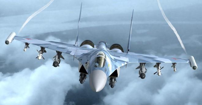 Nếu F-22 Mỹ để tiêm kích Su-35 Nga nắm thắt lưng, điều gì sẽ xảy ra? - Ảnh 2.