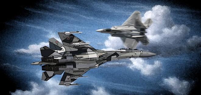 Nếu F-22 Mỹ để tiêm kích Su-35 Nga nắm thắt lưng, điều gì sẽ xảy ra? - Ảnh 4.