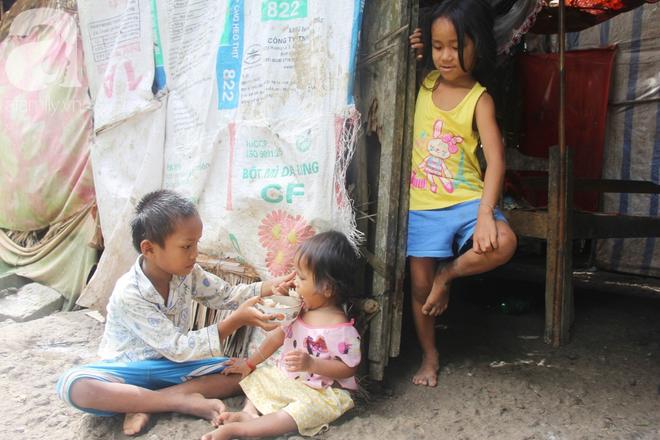 Bị chỉ trích vì nhà nghèo lại đẻ quá nhiều con, mẹ bầu 8 tháng có hoàn cảnh khó khăn cho biết sẽ triệt sản sau khi sinh - Ảnh 2.