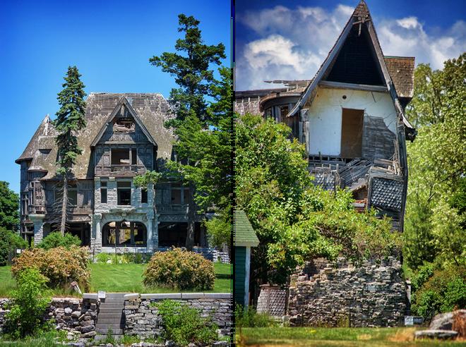 """Carleton Villa: Biệt thự nguy nga tráng lệ giờ chỉ là đống đổ nát hoang tàn bởi """"lời nguyền"""" tang tóc làm cả gia tộc lụi tàn - Ảnh 17."""
