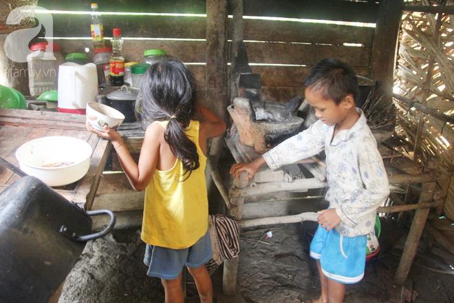Hai lần đẻ rớt tại nhà, 4 đứa trẻ đói ăn bên người mẹ bầu 8 tháng không thể mượn được 500 ngàn để đi bệnh viện - Ảnh 15.