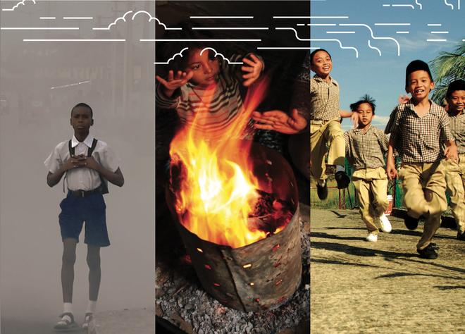 WHO cảnh báo: 93% trẻ em dưới 15 tuổi đang phải sống dưới bầu không khí ô nhiễm mỗi ngày - Ảnh 1.