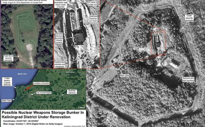 Dừng lại! Khu vực cấm của BQP Nga!: Châu Âu run sợ, bí mật quân sự ở Kaliningrad đã lộ? - Ảnh 2.