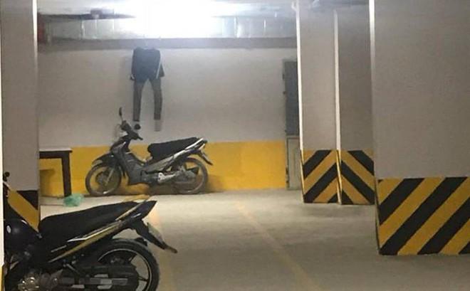 Vào hầm xe chung cư, nam thanh niên tái mặt với cảnh tượng trước mắt