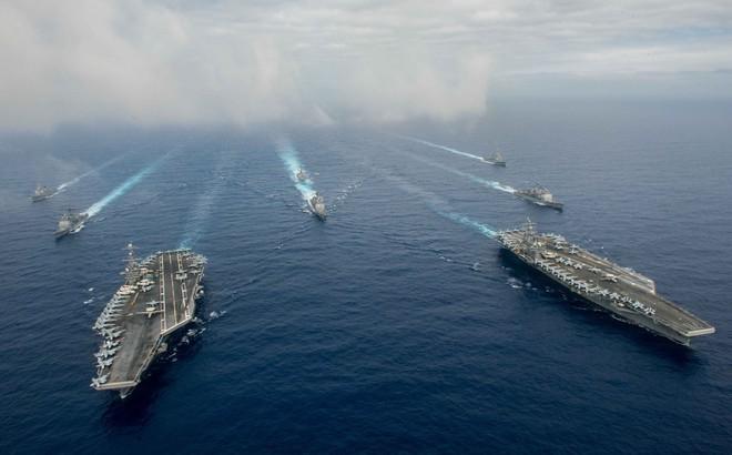 """Hải quân Mỹ chuẩn bị kế hoạch lớn, ồ ạt đưa máy bay, tàu chiến tới Biển Đông để """"dằn mặt"""" TQ"""