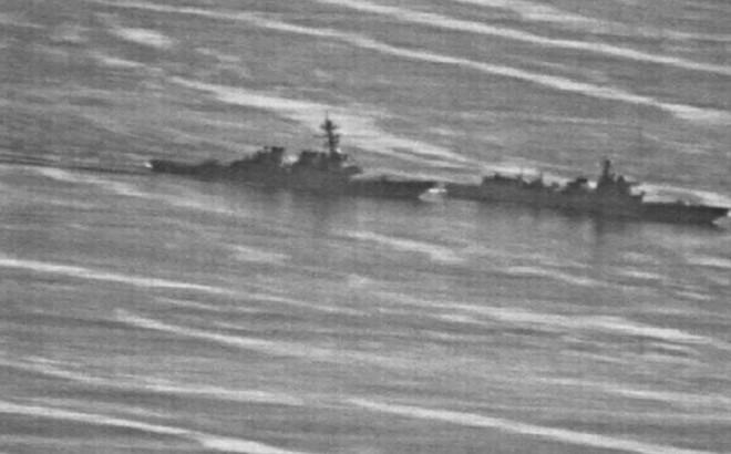 Việt Nam lên tiếng về vụ tàu chiến Trung Quốc áp sát tàu Mỹ tuần tra ở Biển Đông