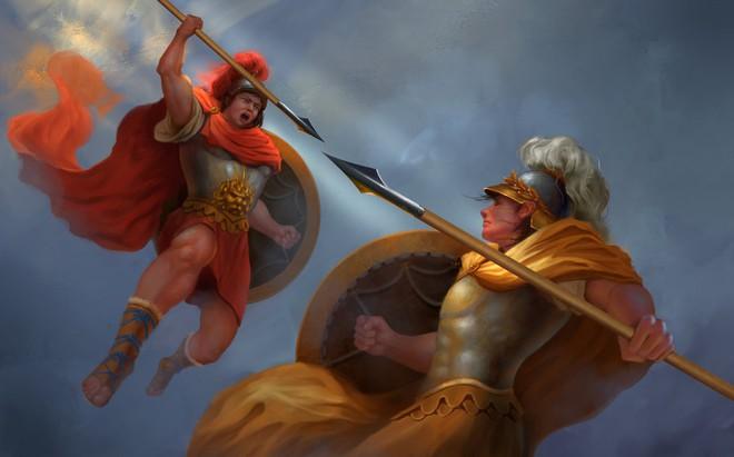 Góc nhìn khác từ cuộc chiến giữa Hector và Achilles: Khi nhà vua đối đầu đại tướng - Ảnh 1.