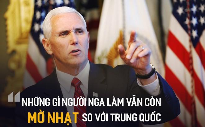 Ông Mike Pence tung bằng chứng TQ can thiệp bầu cử: Bắc Kinh muốn thay thế Tổng thống Mỹ
