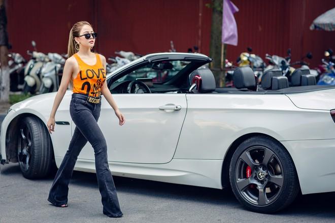 Hot girl Trâm Anh mặc toàn hàng hiệu, chụp ảnh sexy - Ảnh 5.