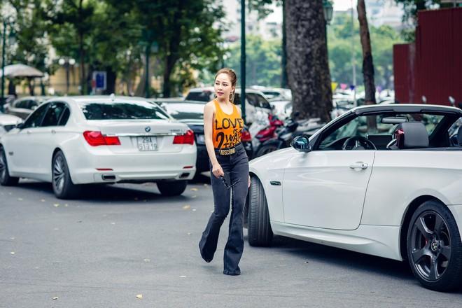 Hot girl Trâm Anh mặc toàn hàng hiệu, chụp ảnh sexy - Ảnh 6.