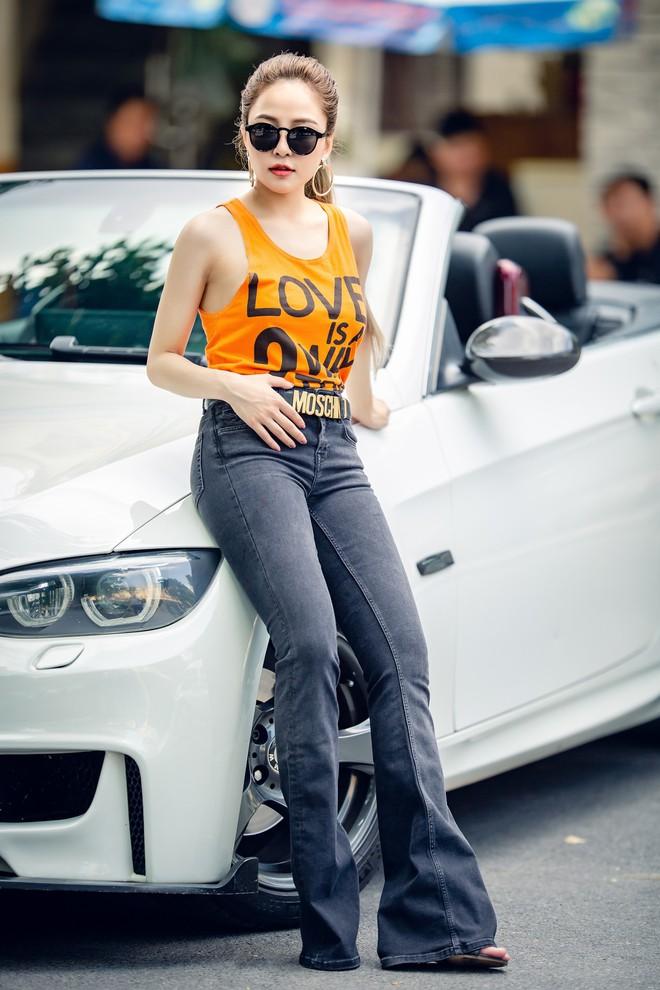 Hot girl Trâm Anh mặc toàn hàng hiệu, chụp ảnh sexy - Ảnh 7.