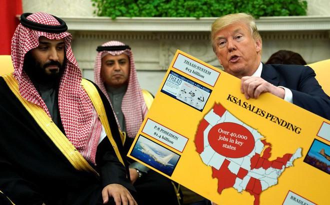 TT Trump dọa Ả Rập Saudi sụp đổ sau 2 tuần thiếu Mỹ, Thái tử MBS 'chấp' luôn 2.000 năm