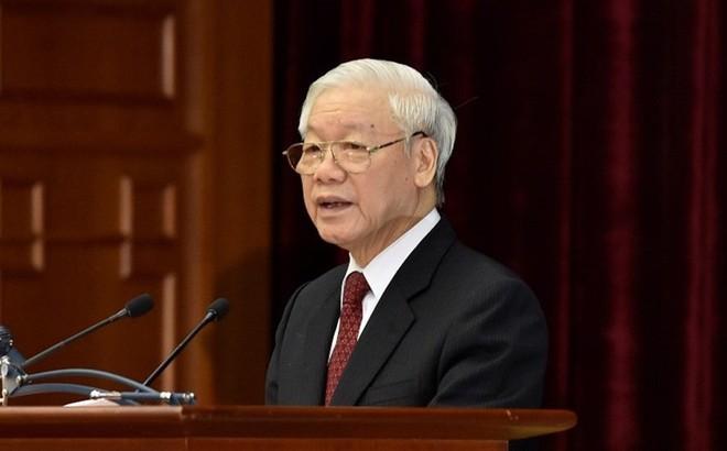 Toàn văn phát biểu bế mạc Hội nghị Trung ương 8 của Tổng Bí thư Nguyễn Phú Trọng
