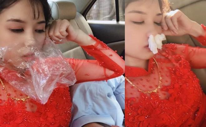 Cô dâu xinh đẹp và tình cảnh trớ trêu trên xe hoa khiến nhiều cô gái giật mình