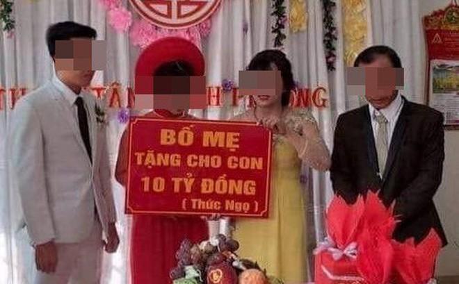 Danh tính cô dâu chú rể được bố mẹ trao quà cưới 10 tỷ đồng gây xôn xao