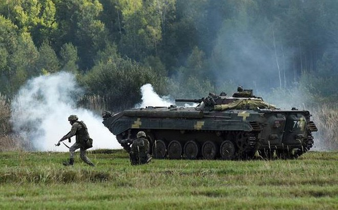 Giữa căng thẳng với Nga: Ukraine tập trận quy mô lớn với NATO