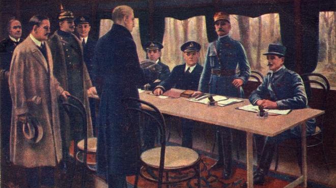 Tại sao Thế chiến I lại kết thúc bằng một thoả thuận ngừng bắn? - Ảnh 2.