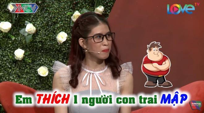 Bạn muốn hẹn hò: Cô gái vừa tiết lộ mẫu bạn trai, MC Quyền Linh phấn khích hô lớn hay quá - Ảnh 1.