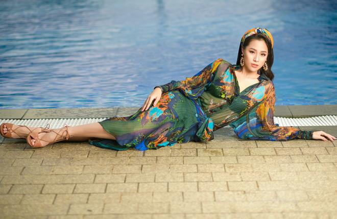 Vẻ gợi cảm của người đẹp sinh năm 2000 gây tiếc nuối nhất tại Hoa hậu Việt Nam 2018 - Ảnh 7.