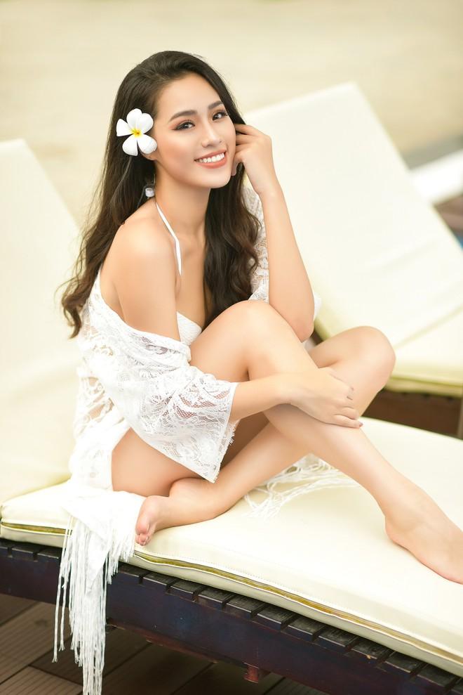 Vẻ gợi cảm của người đẹp sinh năm 2000 gây tiếc nuối nhất tại Hoa hậu Việt Nam 2018 - Ảnh 6.