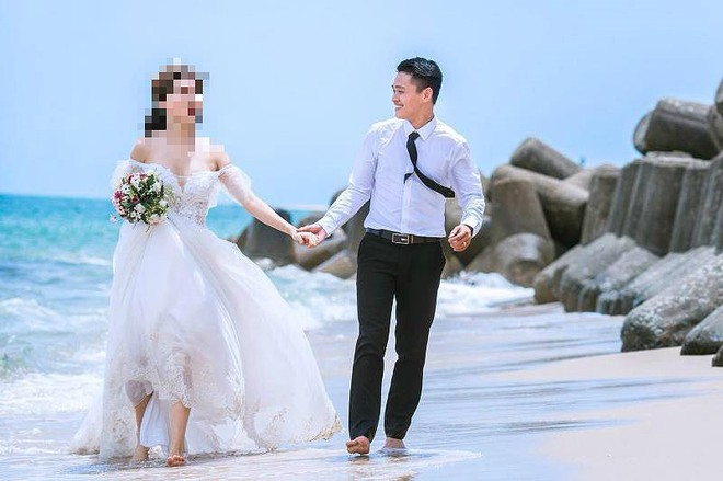 Nam nhân viên chiếm đoạt tiền tỉ, thuê hotgirl chụp ảnh cưới - Ảnh 2.