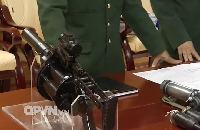 2 loại vũ khí Made in Vietnam cực đỉnh chinh phục khách thăm quan tại Indodefence 2018 - Ảnh 4.