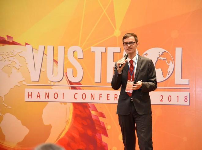 VUS TESOL 2018 tại Hà Nội ứng dụng công nghệ trong giảng dạy tiếng Anh - Ảnh 3.