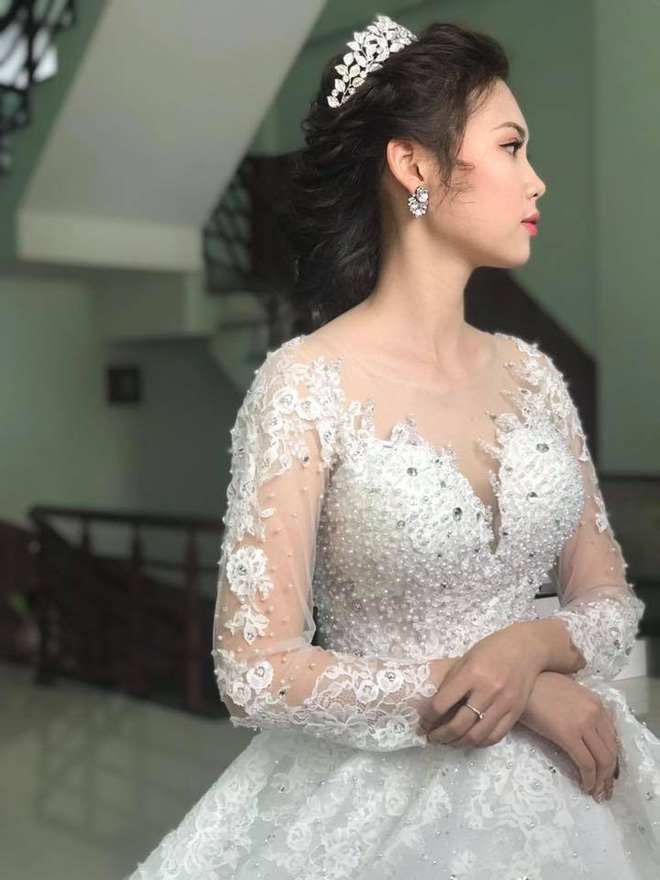 Tiết lộ những hình ảnh siêu lung linh của cô dâu xinh đẹp trong đám cưới khủng chi gần 1 tỷ đồng dựng rạp ở Vĩnh Phúc - Ảnh 4.