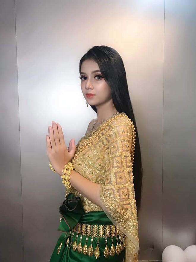 Mới xuất hiện một cô gái người Khmer xinh đẹp hết nấc khiến dân mạng tưởng nhầm là con lai - Ảnh 3.