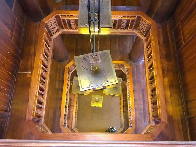Ngắm cảnh xa hoa bên trong ngôi nhà gỗ trăm tỷ của đại gia Hà Tĩnh - Ảnh 16.