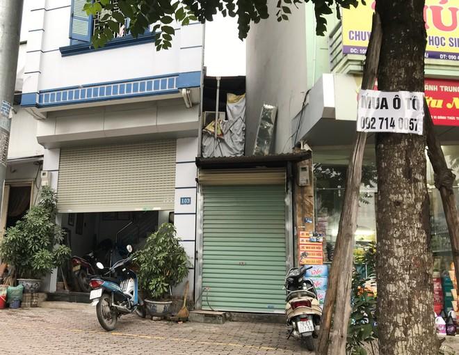 Những căn nhà quan tài, mặt tiền 1 mét ở phố mới Hà Nội - Ảnh 2.