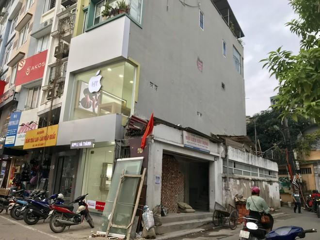 Những căn nhà quan tài, mặt tiền 1 mét ở phố mới Hà Nội - Ảnh 7.