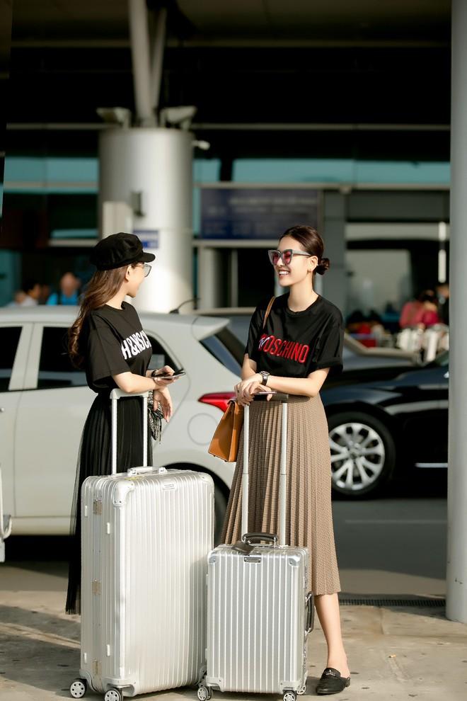 Hà Lade xinh đẹp nổi bật tại sân bay - Ảnh 6.