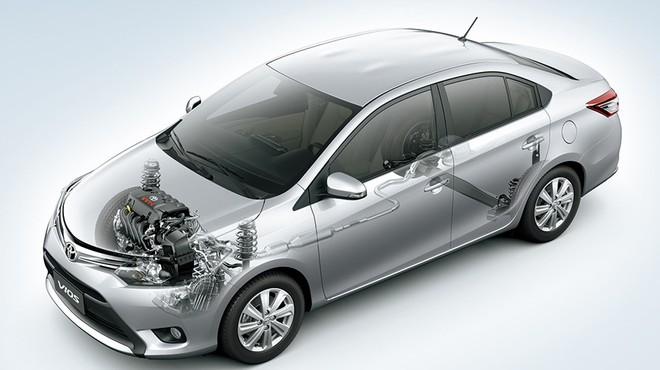 3 điểm mạnh của Toyota Vios khiến người Việt say như điếu đổ - Ảnh 3.