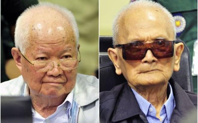"""""""Anh Hai"""" và """"anh Năm"""" Khmer Đỏ nhận án chung thân vì tội diệt chủng"""