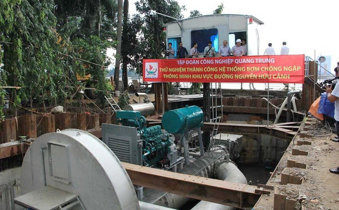 """TPHCM chốt giá thuê """"siêu máy bơm"""" gần 10 tỉ đồng mỗi năm"""